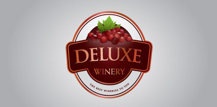 33+ Beautiful Wine Logo Designs for Inspiration | Inspiration | Scoop.it
