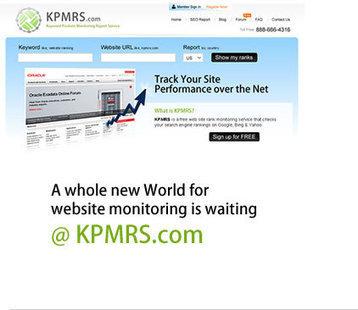 KPMRS - a website ranking monitoring service | KPMRS Features | Scoop.it