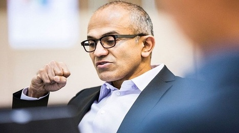 Microsoft's New CEO Sparks Hope   Technology News   Scoop.it