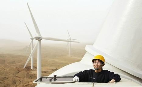 L'éolien chinois plus productif que la totalité du nucléaire américain | ISO 26000 facilite le développement humain | Scoop.it