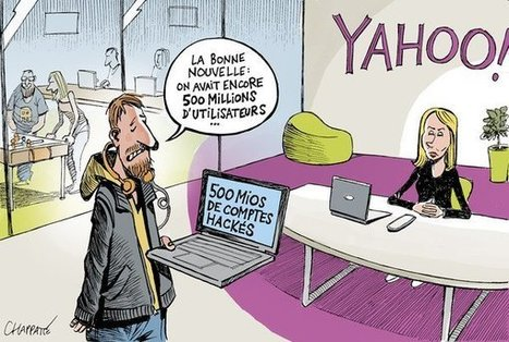 Yahoo! victime d'un piratage monstre | Chroniques libelluliennes | Scoop.it