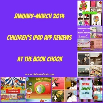 January-March 2014 Children's iPad App Reviews at The Book Chook | Favourite iPad Apps | Scoop.it