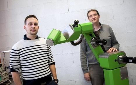 MC Robotics veut démocratiser le robot dans les PME - Traces Ecrites | L'actualité économique de Bourgogne, | Les robots de service | Scoop.it