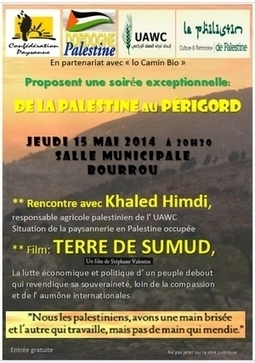 De la Palestine au Périgord | CRDVA 24 | Scoop.it
