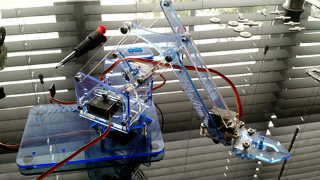 Build A Kickass Robot Arm: The Perfect Arduino Project For Beginners | Open Source Hardware News | Scoop.it