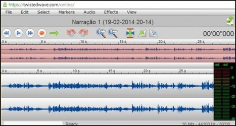 twistedwave, un editor de audio en el navegador | E-Learning, M-Learning | Scoop.it