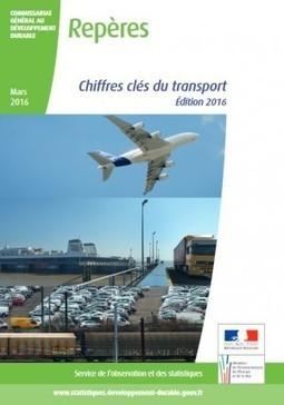 MobiliDoc - Chiffres clés du transport - Édition 2016 | Déplacements-mobilités | Scoop.it