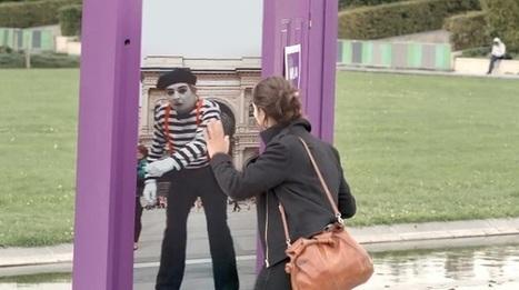 Des portes interactives dans les rues de Paris vous invitent au voyage ! | Tour du monde | Scoop.it