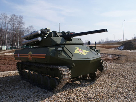 Next Big Future: Russia making small robotic tank to support special operation forces   Outbreaks of Futurity   Scoop.it