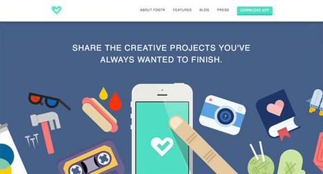 20 Stylish Examples of Flat Illustrations in Web Design | graphisme et webdesign | Scoop.it