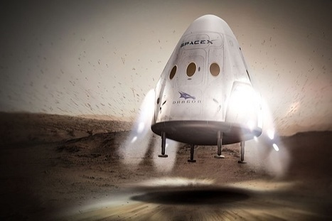 NASA's Cost for SpaceX Dragon Mission to Mars: $30 Million | Aerospace and aviation construction | Scoop.it