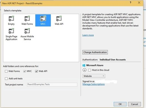 Getting Started with React.js in ASP.NET MVC | .Net & Web Development | Scoop.it