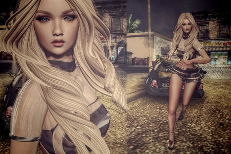 Run and dont  stop   Second life women   Scoop.it