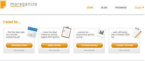 moreganize - stay organised   Online Tools   Scoop.it