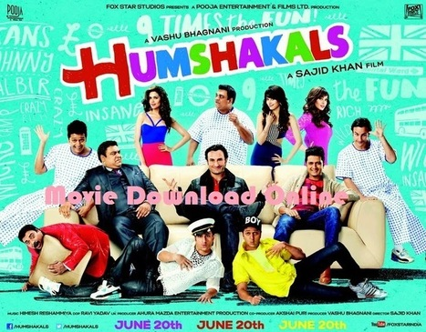 Humshakals [2014] Comedy Hindi Full Movie HD720 Download Online | Movie Download Online | Entertainment Zone | Scoop.it