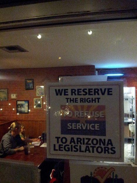 AZ Pizzeria to Legislators: Discrimination Goes Both Ways | Daily Crew | Scoop.it