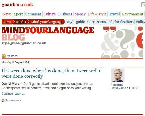 Mind Your Language Blog | Top sites for journalists | Scoop.it