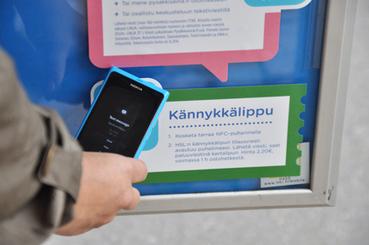 HSL Helsingin seudun liikenne - NFC-teknologiaa hyödyntävä Pysäkkiseinä saanut hyvän vastaanoton | NFC News and Trends | Scoop.it