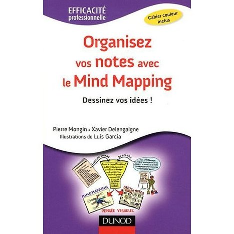 Organisez vos notes avec le Mind Mapping (Pierre Mongin – Xavier ... | sketchnoting | Scoop.it