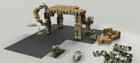 Roombots: Bloques robóticos tipo Lego que se transforman en ... | Desarrollos tecnológicos y arquitectura | Scoop.it