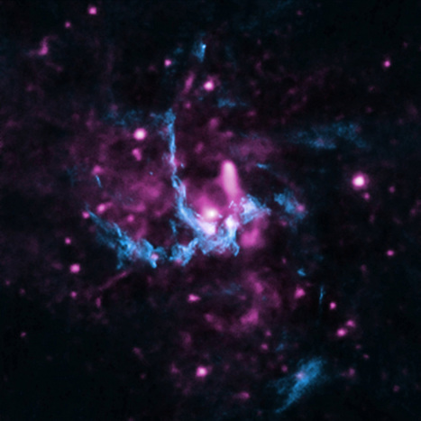 Chandra helps confirm evidence of jet in Milky Way's black hole | Astronomy.com | Good news from the Stars | Scoop.it