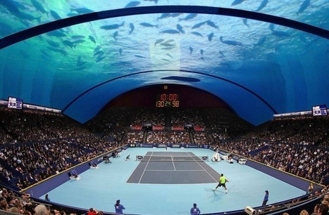 The World's First Underwater Tennis Court Is Set To Be Built In Dubai | ScubaObsessed | Scoop.it