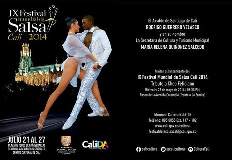 IX Festival mundial de Salsa Cali 2014 | musik | Scoop.it