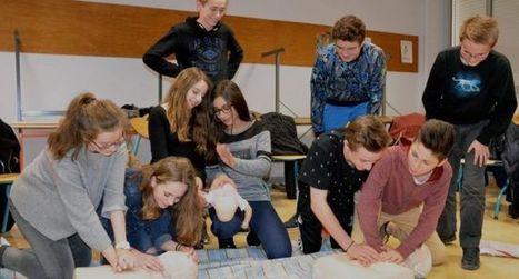 Collège Kervallon  : secourisme pour tous les 3e | Collège Kervallon | Scoop.it