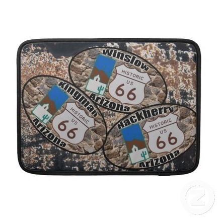 Historic Route 66 ~ Arizona Stops MacBook Sleeves | Z Artwork | Scoop.it