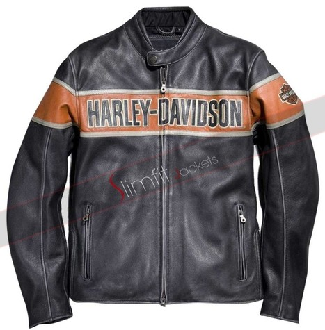 Motorcycle Harley Davidson Leather Jacket | Motorcycle Leather Jackets For Men and Women | Scoop.it