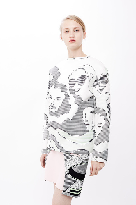 Pricey ASCII-ish clothes by Opening Ceremony. | ASCII Art | Scoop.it