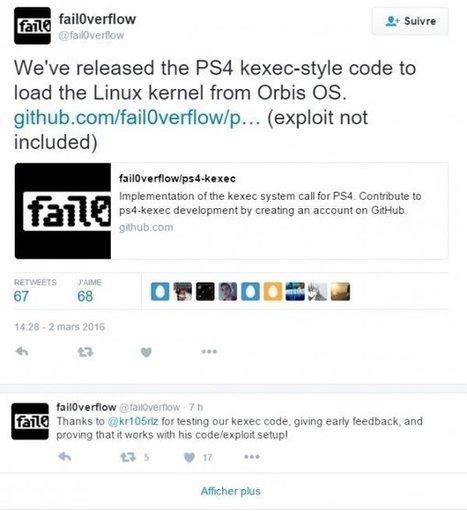 [PS4] La Team fail0verflow libère le code source du lancement de Linux - News et actualités postées sur LS | [FTH]-NEWS | Scoop.it