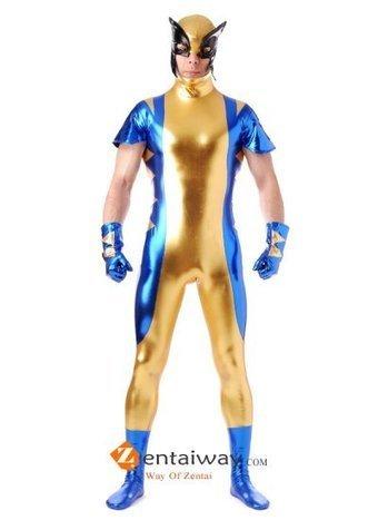 Wolverine Shiny Metallic Zentai Costume [2013166] - $49.00 : zentaiway.com | Amazing X-men Costumes | Scoop.it