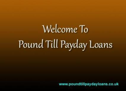 Pounds Till Payday Loans: Solve Problems In Quick Manner by Jasper D Smith | Meet Your Every Personal Financial Needs And Desires: | Scoop.it