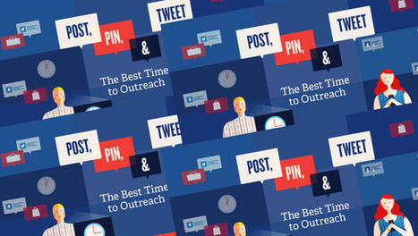 The Best (And Worst) Times To Post On Social Media (Infographic) | Seriously Social News | Scoop.it