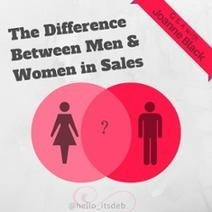 How Men & Women in Sales Are Wired Differently: Interview with Joanne Black | Business Tips | Scoop.it