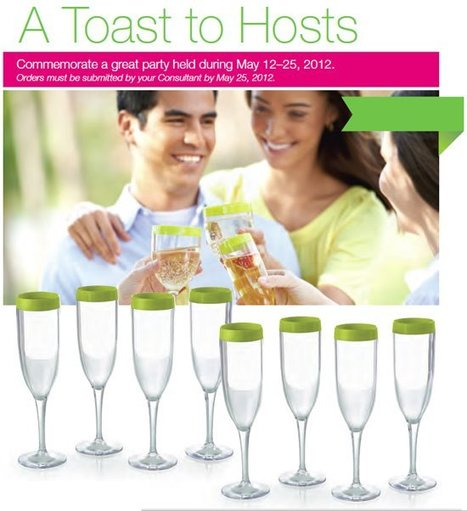 A Toast To Hosts | May Tupperware Specials | Scoop.it