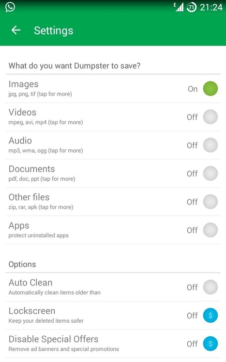 Dumpster - Recycle Bin or Trash for Android | Android And Freak | Android And Freak | Scoop.it