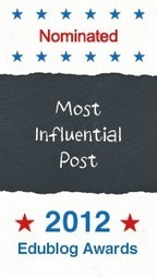 Most Influential Education Blog Post of 2012 | The Edublog Awards | Librarians in the real world | Scoop.it