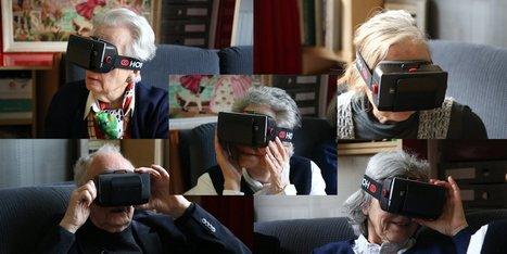 On a fait tester un casque de réalité virtuelle à des séniors | qrcodes et R.A. | Scoop.it