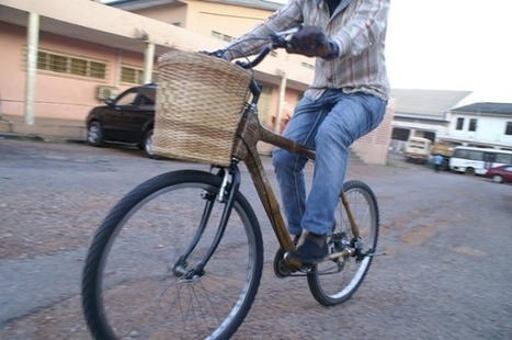 Ghana's bicycle which is creating jobs while it saves the soil | Sustainable Futures | Scoop.it