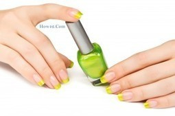 Green French manicure for daily activities | Tips | Scoop.it