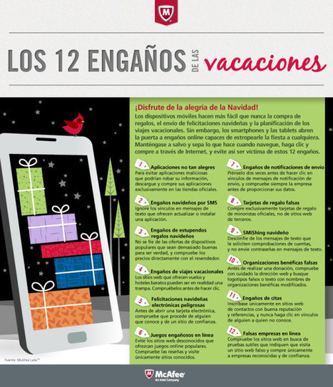 12 ciberestafas para Navidad #infografia #infographic #internet | Meet in Spain-es | Scoop.it
