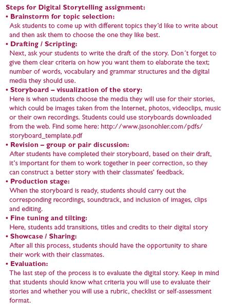 Classroom Link :: Integrating Digital Storytelling Projects in our Teaching | Digital Storytelling Tools | Scoop.it