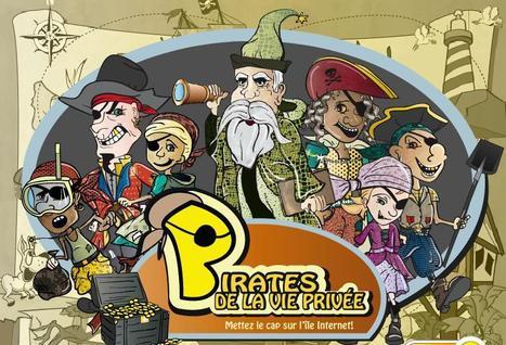 Pirates de la vie privée : jeu en ligne sur la protection des renseignements personnels (pour les 7-9 ans) | Sites pour enfants | Scoop.it
