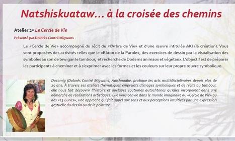 Natshiskuataw... - Docomig animera Le Cercle de Vie à VRAC  | 22 mai - Parc Extension, Mtl. | Ateliers artistiques | Scoop.it
