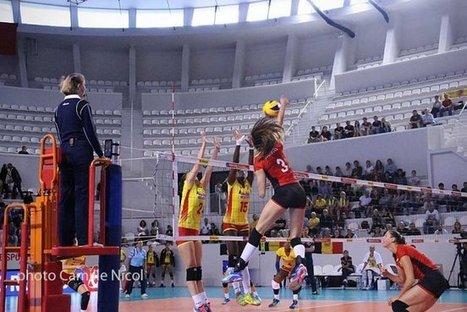 TQCE volleyball : Un samedi à l'avantage des Belges | Bordeaux Gazette | Scoop.it