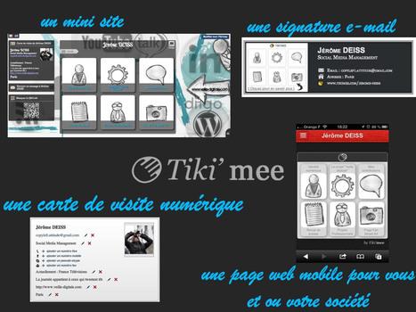 Tiki'mee un pas de plus pour votre identité numérique | Geeks | Scoop.it