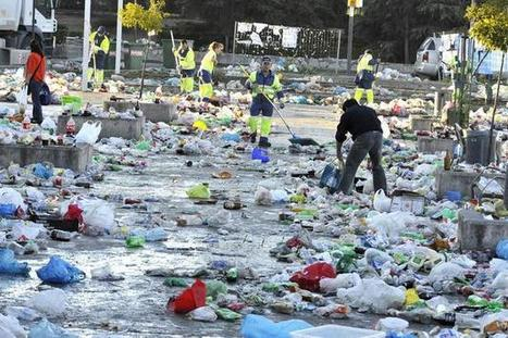El 54% de los residuos plásticos ni se recicla ni se transforma en energía | EFE Verde | Agua | Scoop.it