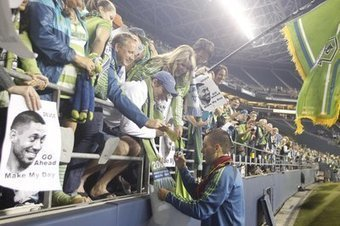 Major Link Soccer: Another Record Sellout - Sounder At Heart   Sports   Scoop.it
